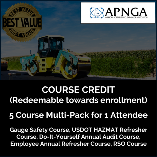 Product Image- 5-Course MultiPack CREDIT