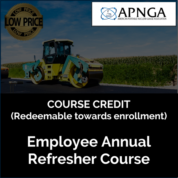 Product Image- Annual Emp Course CREDIT