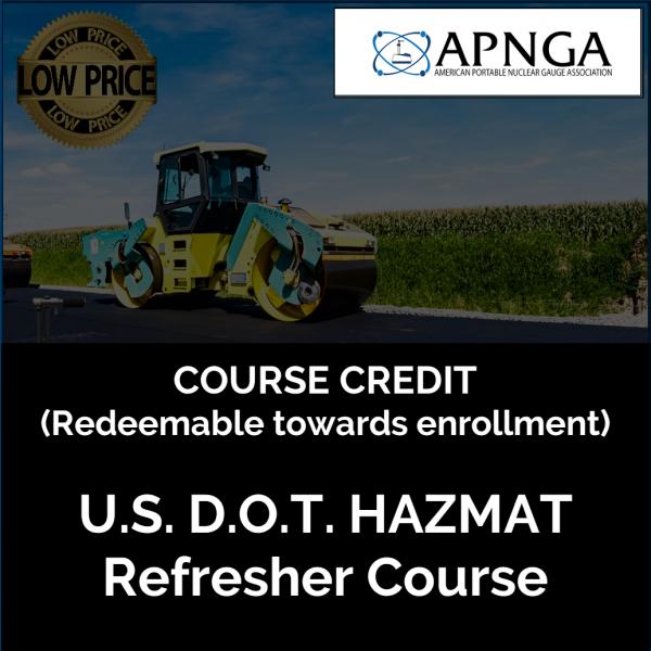 Product Image- Hazmat Course CREDIT
